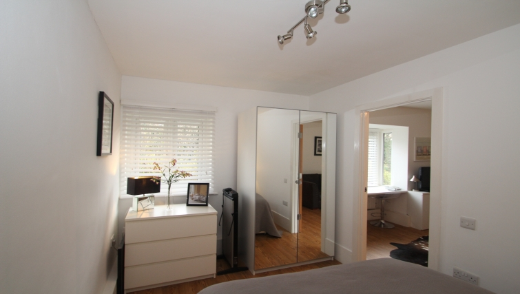 Double bedroom at Mathon Court Apartment