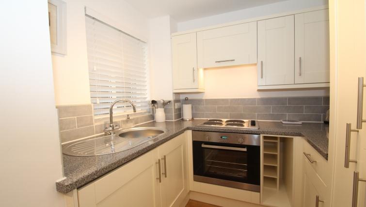 Kitchen at Mathon Court Apartment