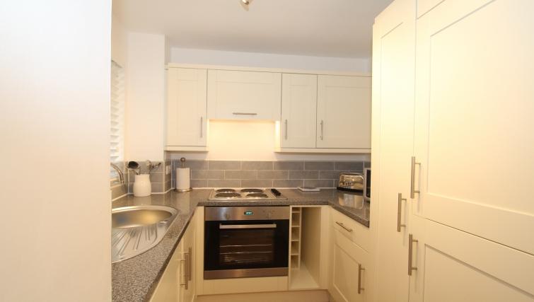 Modern kitchen at Mathon Court Apartment