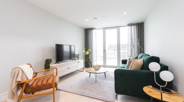 Living area at Chatham Court, Centre, Dublin
