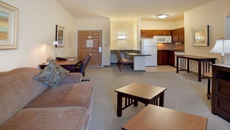 Spacious living area in Staybridge Suites Austin Northwest