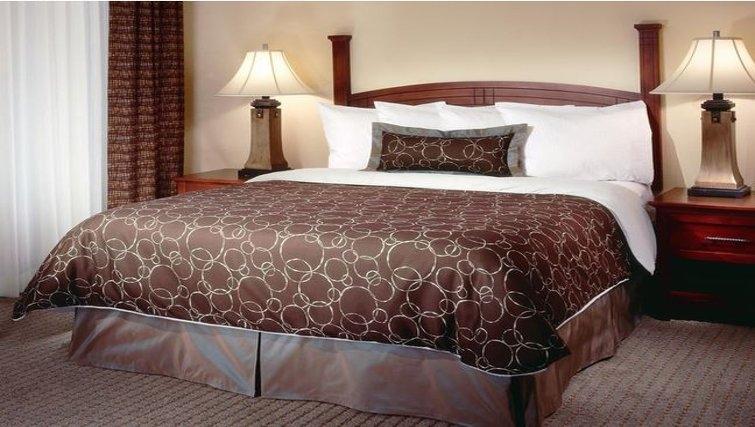 Unique bedroom in Staybridge Suites Austin Northwest