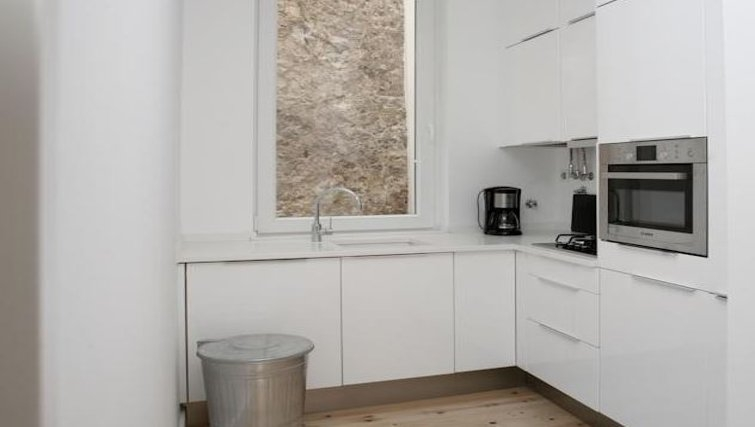 Outstanding kitchen in Praca do Municipio Apartments