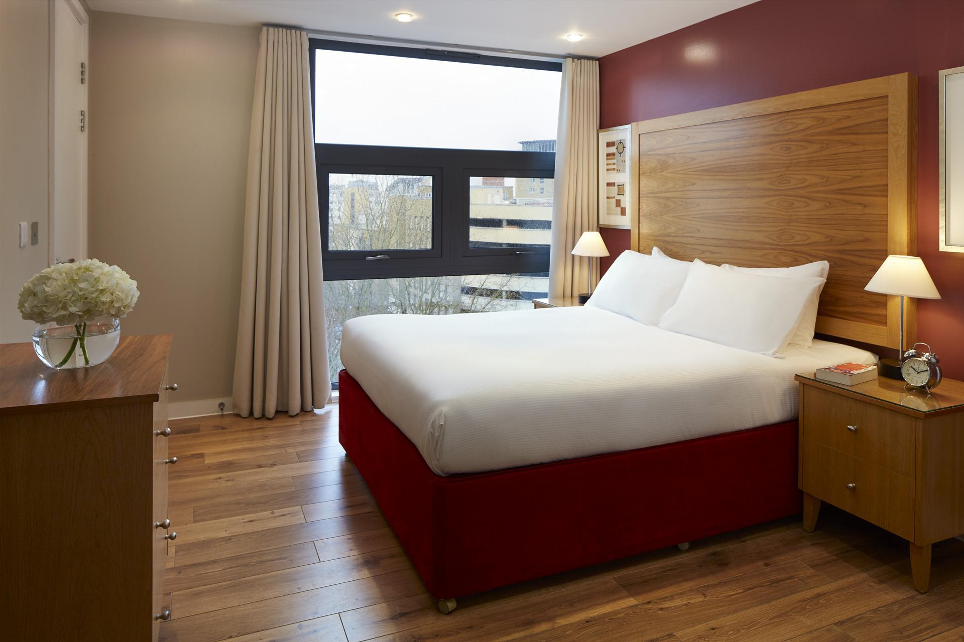 Bedroom at Marlin Canary Wharf Apartments, Canary Wharf, London
