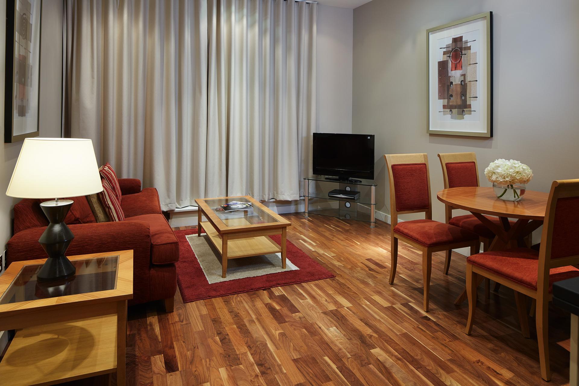 TV at Marlin Canary Wharf Apartments, Canary Wharf, London
