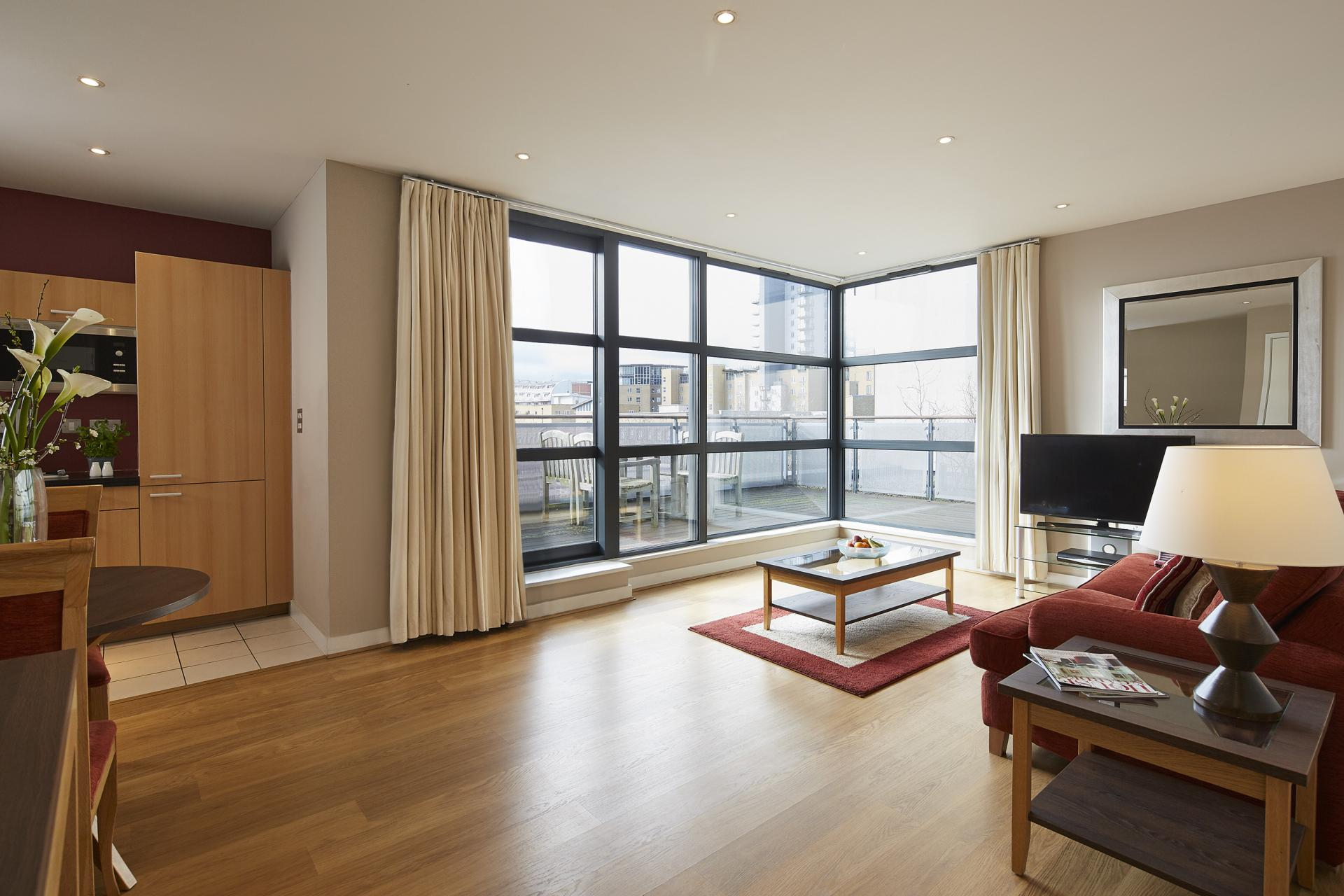 Windows at Marlin Canary Wharf Apartments, Canary Wharf, London