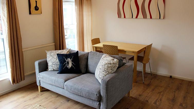 Living area in Gladstone Apartment