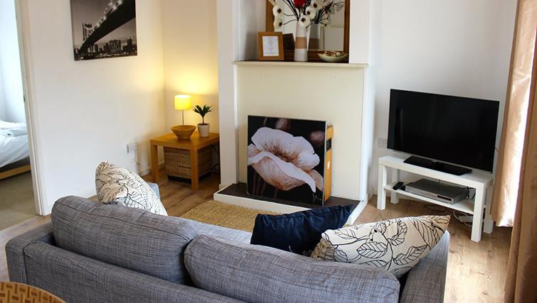 Sofa at Gladstone Apartment