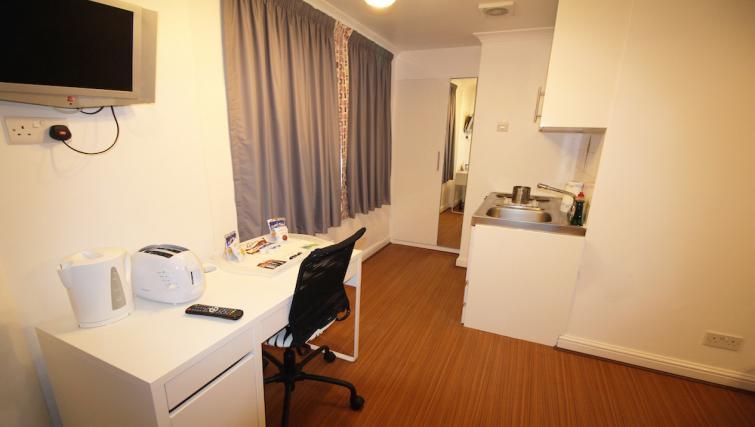 Work desk at Croydon High Street Apartments