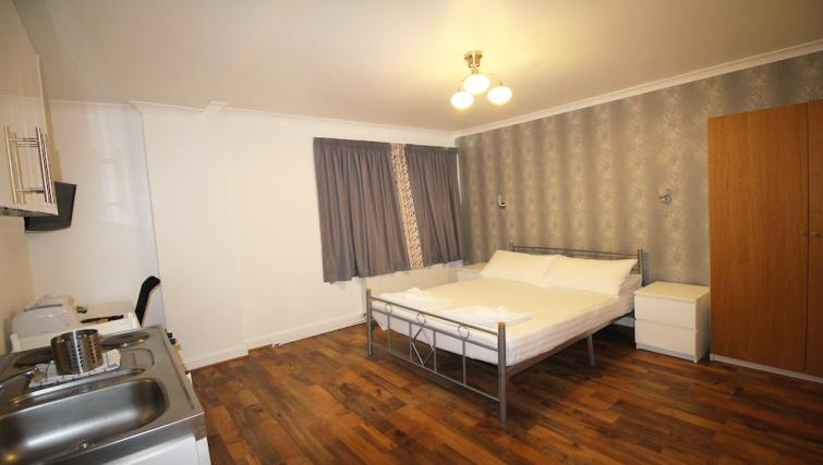 Bedroom at Croydon High Street Apartments