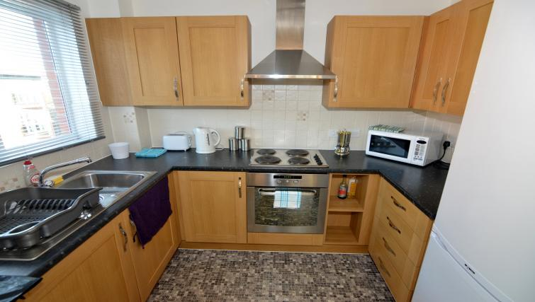 Kitchen at Coventry Apartments