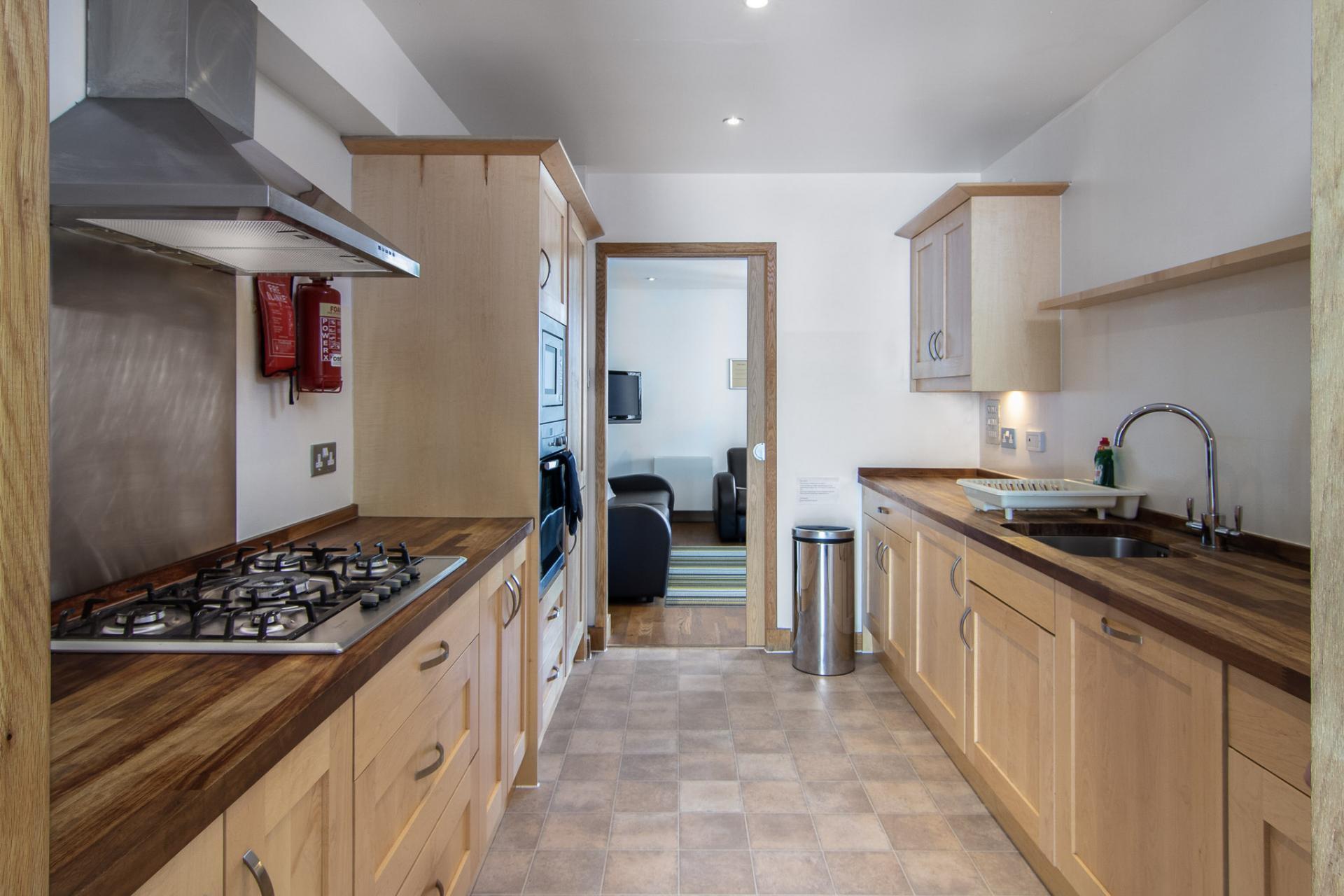 Kitchen at Staycity Edinburgh Leamington Wharf, Haymarket, Edinburgh