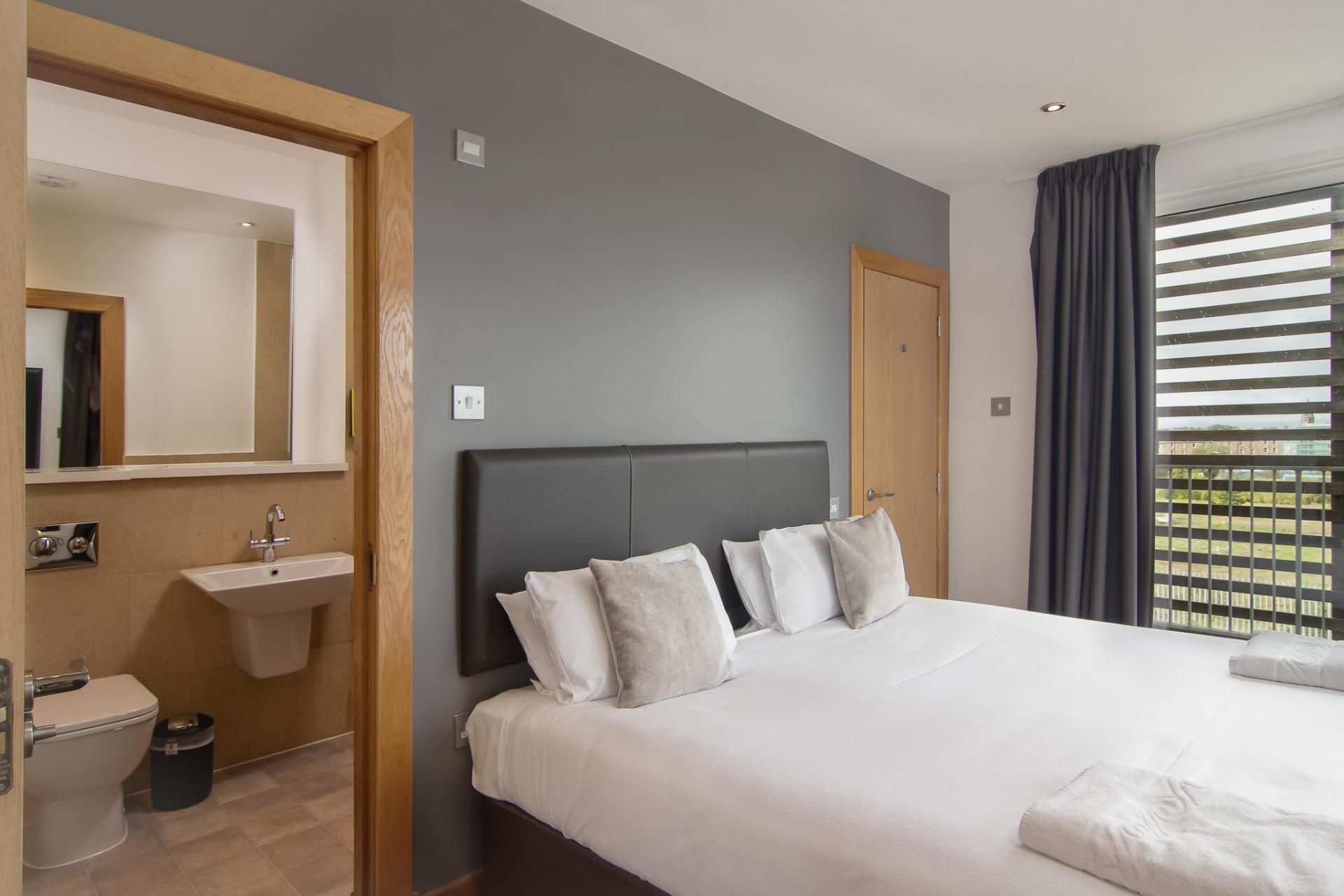 Bed at Staycity Edinburgh Leamington Wharf, Haymarket, Edinburgh