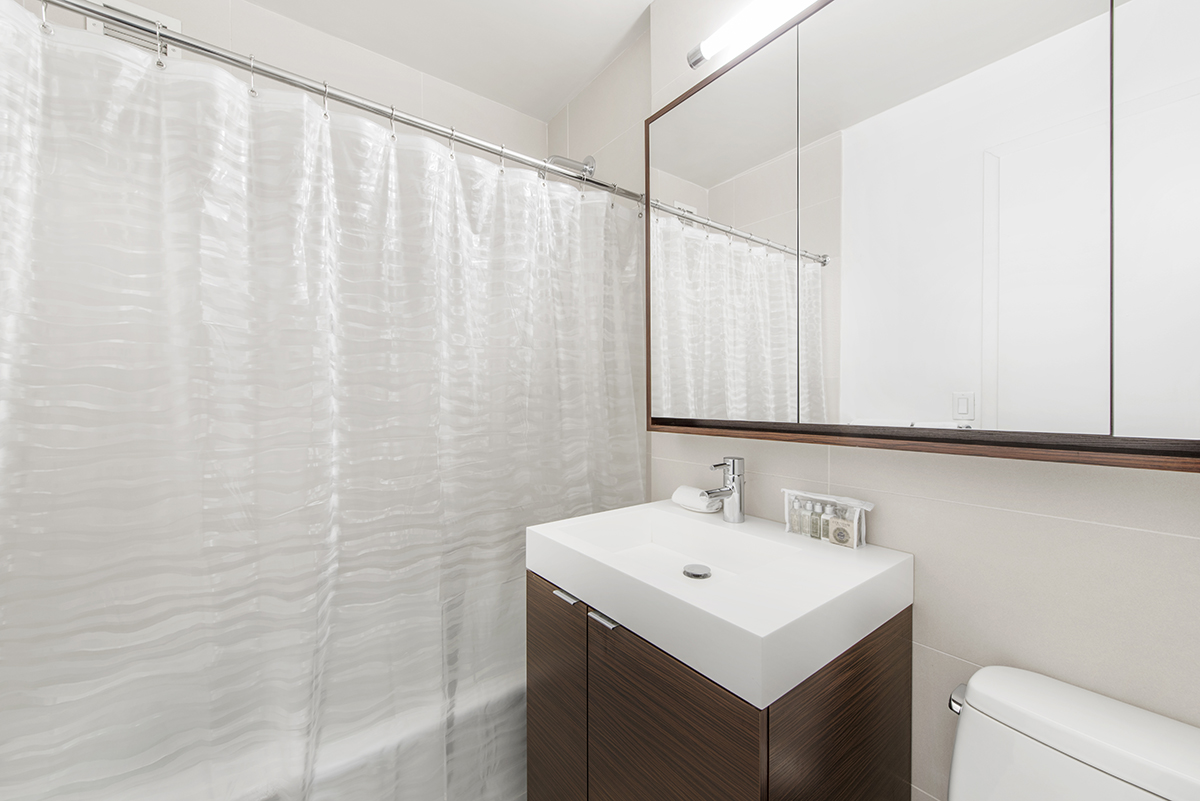 Bathroom at Tribeca Apartments