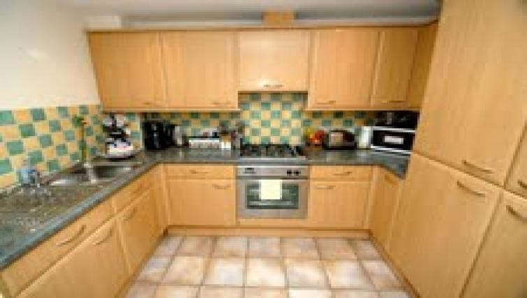 Kitchen at Longfellow Apartment