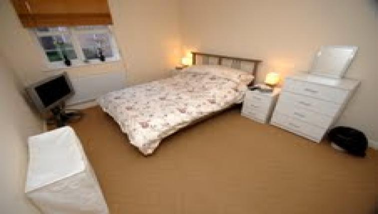 Bedroom at Longfellow Apartment