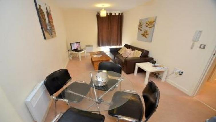 Lounge at CV Central Apartments