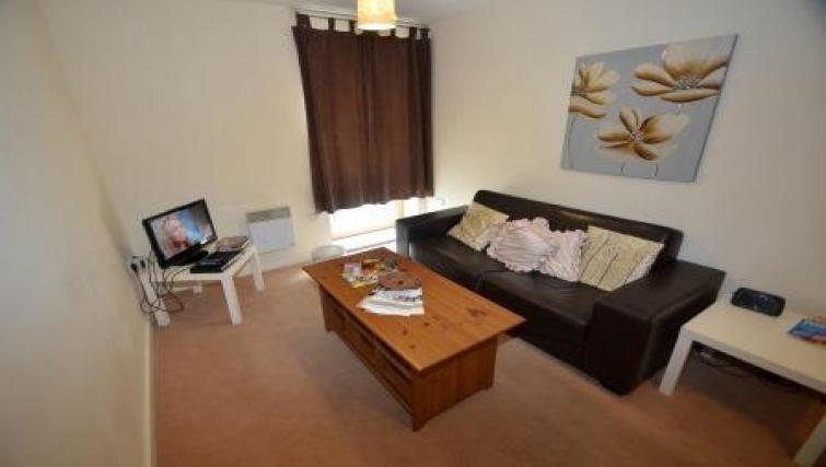 Sofa at CV Central Apartments