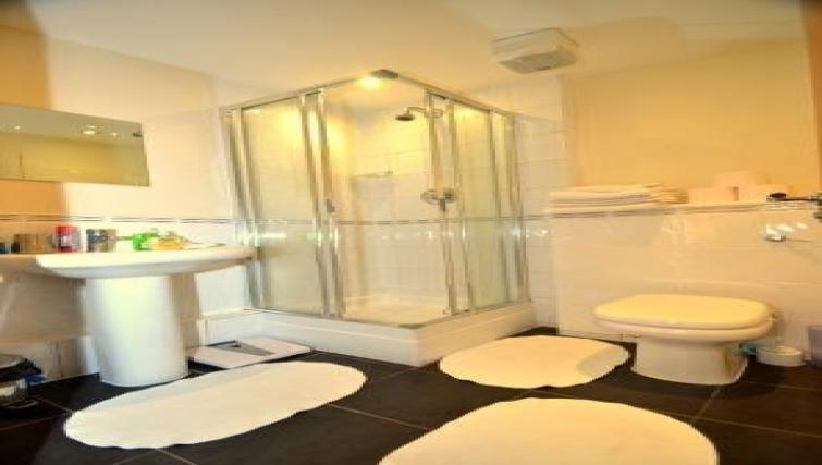 Bathroom at CV Central Apartments