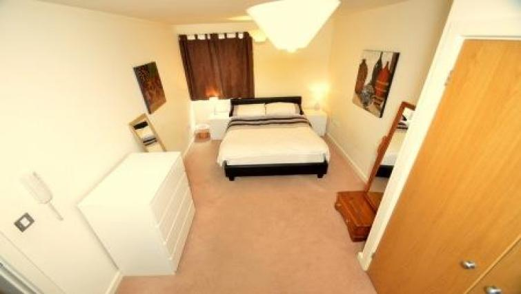 Double bedroom at CV Central Apartments