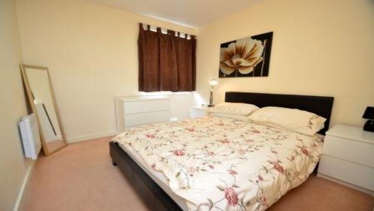 Bedroom at CV Central Apartments