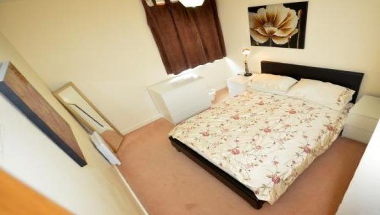 Bed at CV Central Apartments