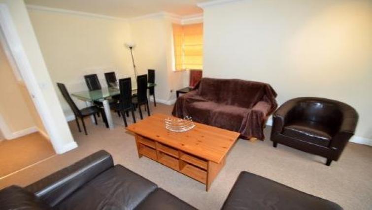 Sofa at Coundon Drive Apartments