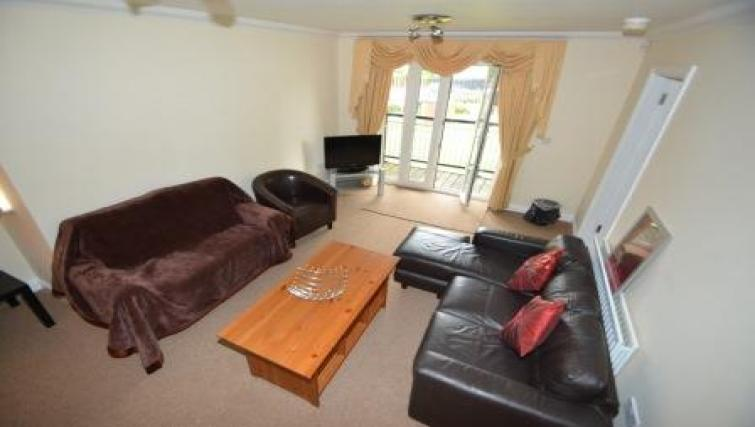 Living area at Coundon Drive Apartments