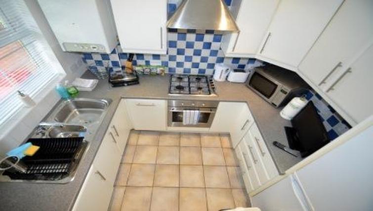 Kitchen at Coundon Drive Apartments