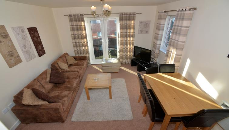 Lounge at Bodium & Hever Hall Apartments