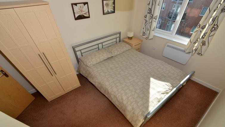 Bedroom at Bodium & Hever Hall Apartments