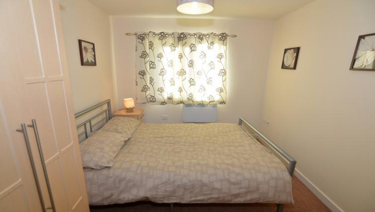 Bed at Bodium & Hever Hall Apartments