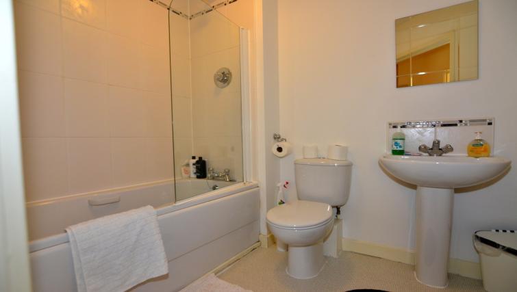 Bathroom at Bodium & Hever Hall Apartments