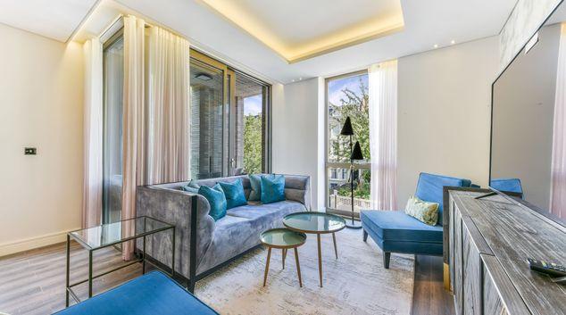 Living area at Residence @ Kensington, Kensington, London