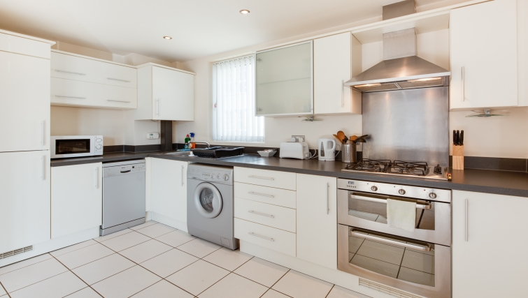 Stunning kitchen at Freemens Meadow Apartments