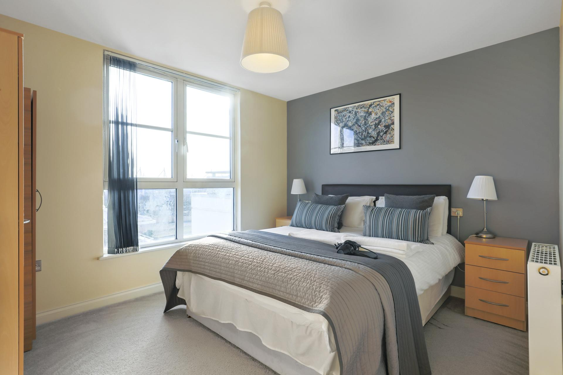 Bed at Freemens Meadow Apartments, Freemens Meadow, Leicester