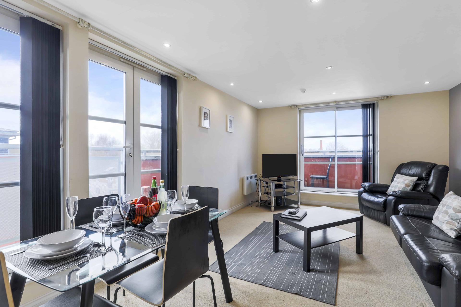 Lounge at Freemens Meadow Apartments, Freemens Meadow, Leicester