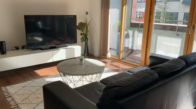 Living area at Stellar @ The Docklands, Docklands, Dublin