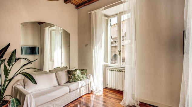 Living space at Trastevere Apartments