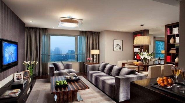 Exclusive living area in Ascott Huai Hai Road Apartments
