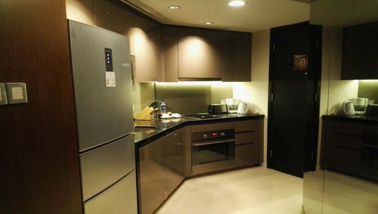 Kitchen at the Ascott Huai Hai Road Apartments
