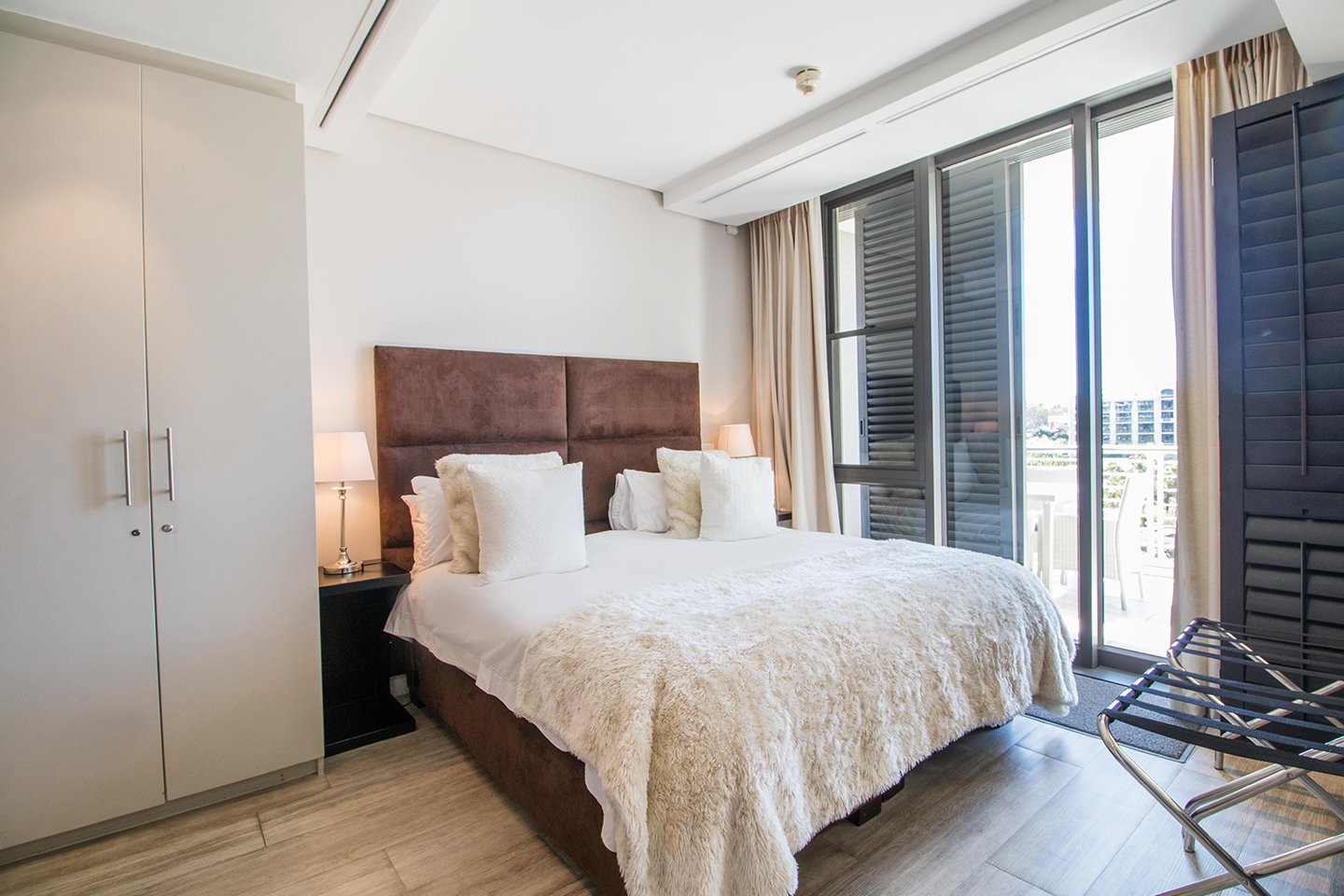 Bedroom at Waterfront Village