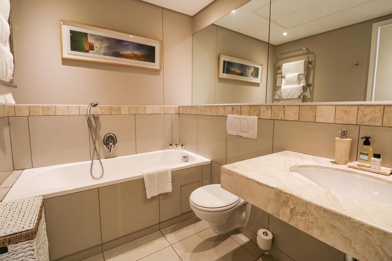 Bathroom at Waterfront Village