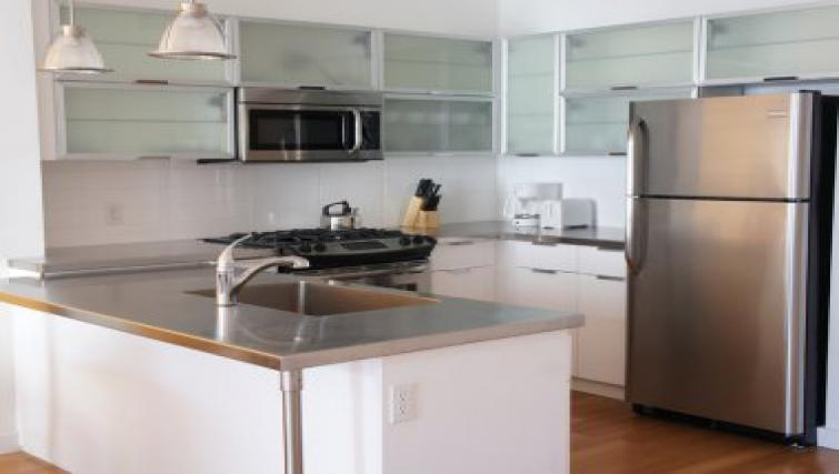 Spacious kitchen in The Blvd Apartments