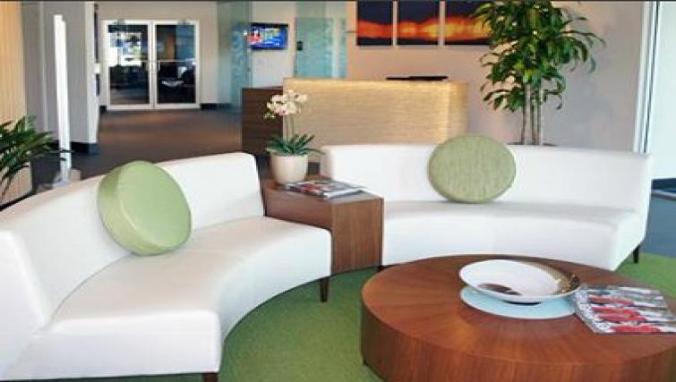 Fresh living area in The Blvd Apartments