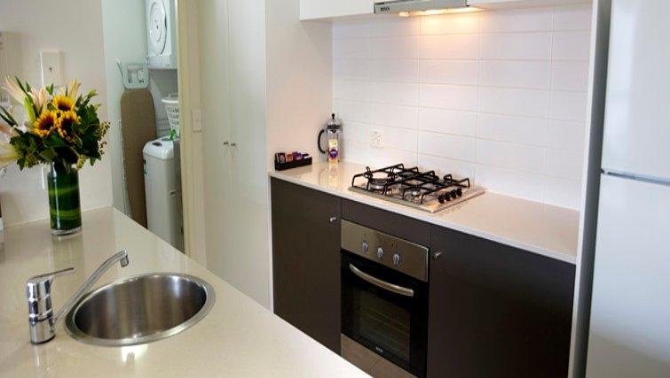 Inspiring kitchen at Quest Brisbane Spring Hill