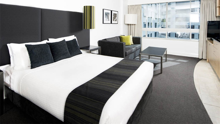 Executive bedroom at Mantra on Kent