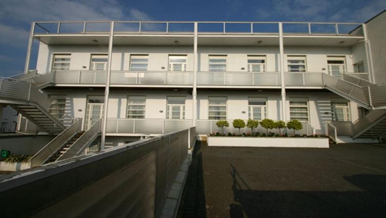 Exterior of Fredericks Gate Apartments