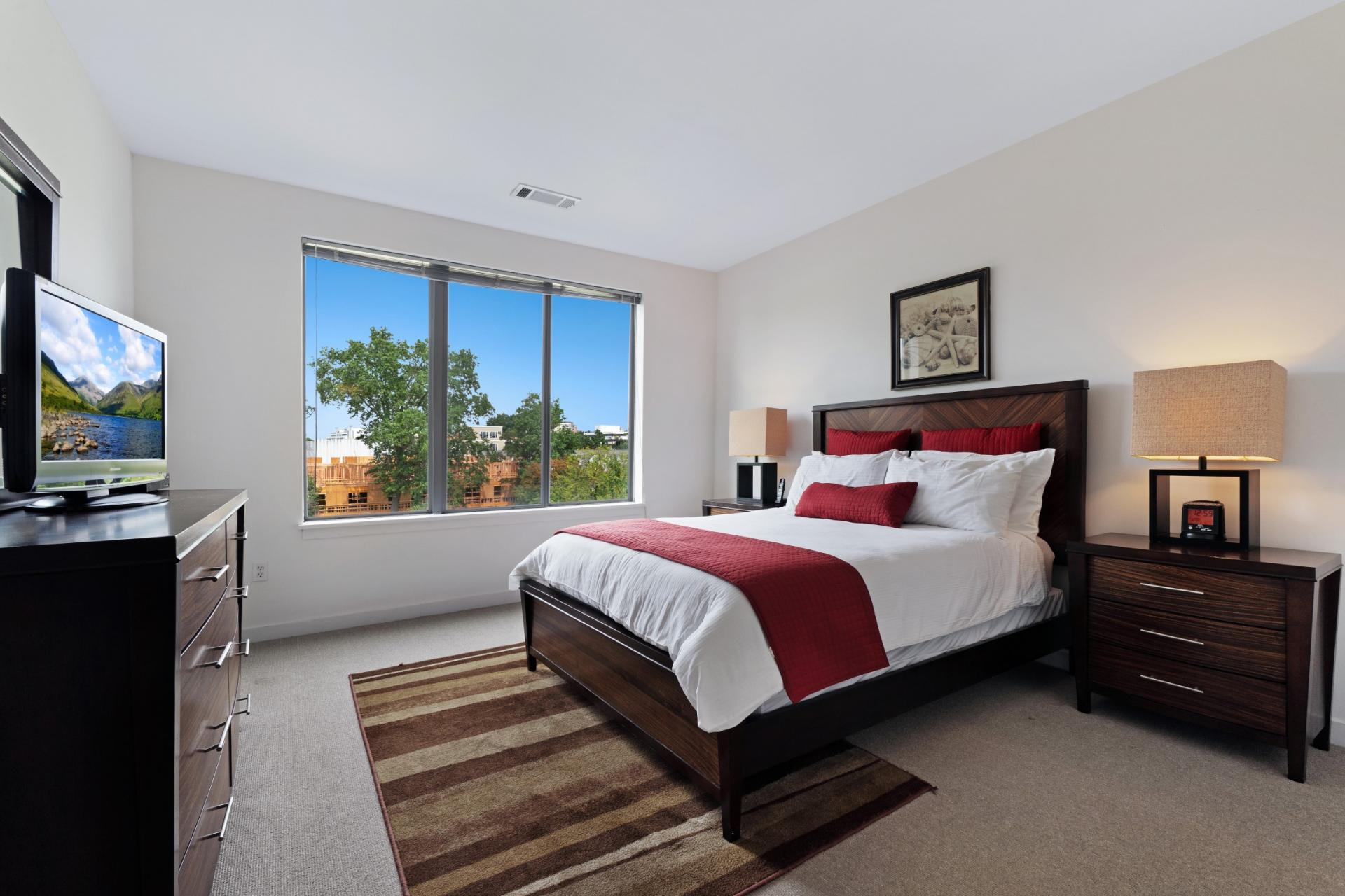 Bedroom at Stamford Blvd Apartments, Centre, Stamford