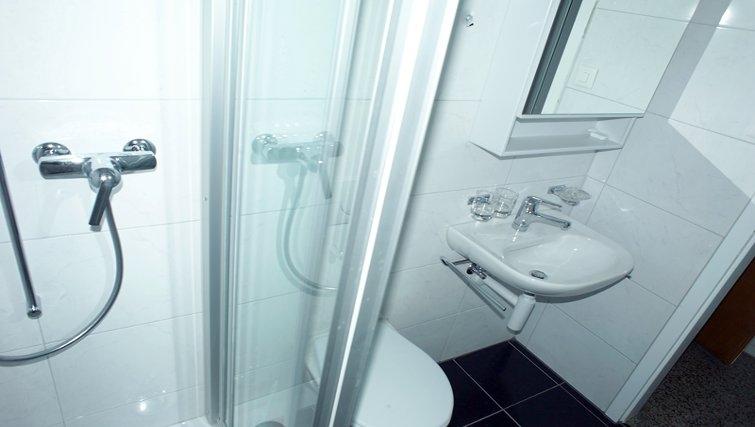 Bathroom in Florhaus Apartments